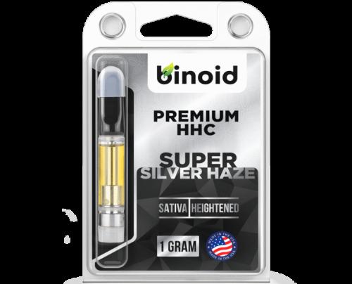 Binoid HHC Vape Cartridges - Super Silver Haze