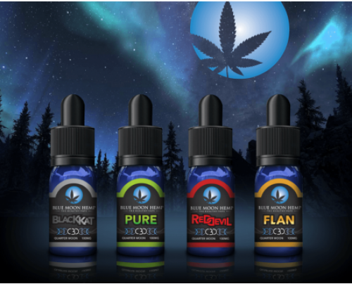 Blue Moon Hemp CBD Half Moon 200mg Sampler Pack