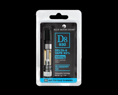 Blueberry OG Delta 8 Vape Cartridge