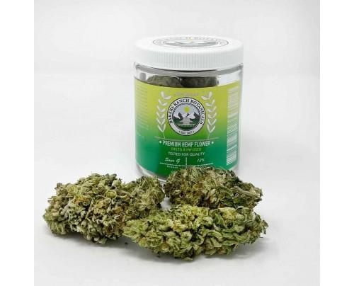 Delta-8 Flower Sour G | Sativa CBG Strain - Bakers Ranch Botanicals - FREE Shipping!
