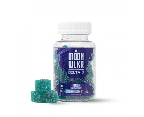 MoonWLKR Europa Blue Dream Berry Delta-8 THC Gummies