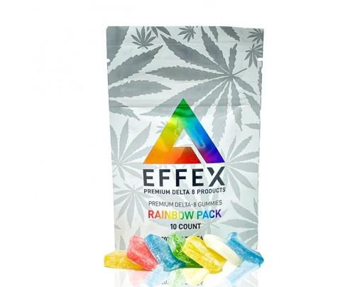 Delta Effex Delta 8 THC Gummies - Rainbow Pack