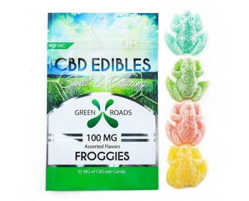 Green Roads CBD Gummie Froggies