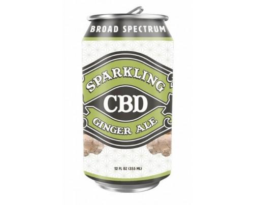 Sparkling CBD Soda Ginger Ale Flavor Beverage