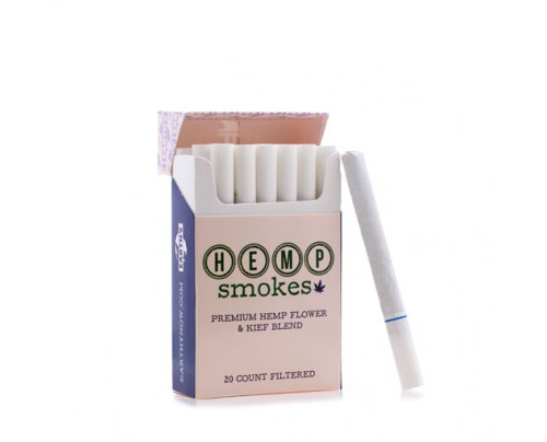 EarthyNow Hemp Smokes CBD Cigarettes - 20 Pack