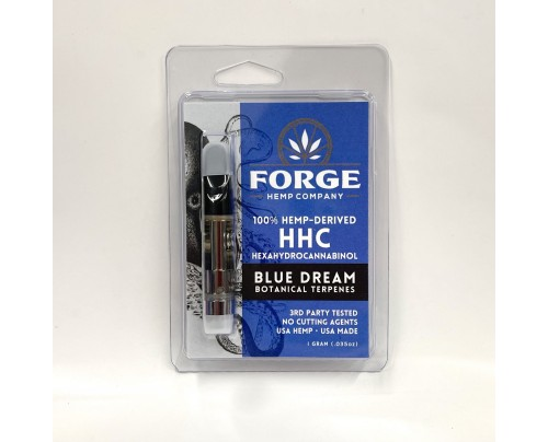 HHC Vape Cartridges - Blue Dream Strain - Forge Hemp Co.