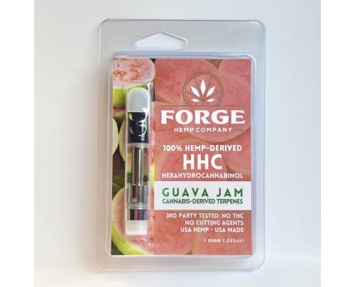 HHC Vape Cartridges - Guava Jam Strain - Forge Hemp Co.