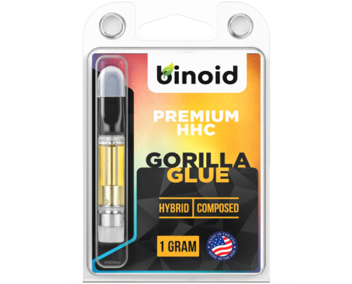 HHC Vape Cartridges - Gorilla Glue - Binoid CBD Products