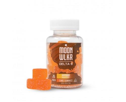 Moon-WLKR Mango Kush Delta-8 THC Gummies