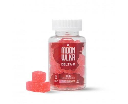 MoonWLKR Watermelon Zkittlez Delta-8 THC Gummies