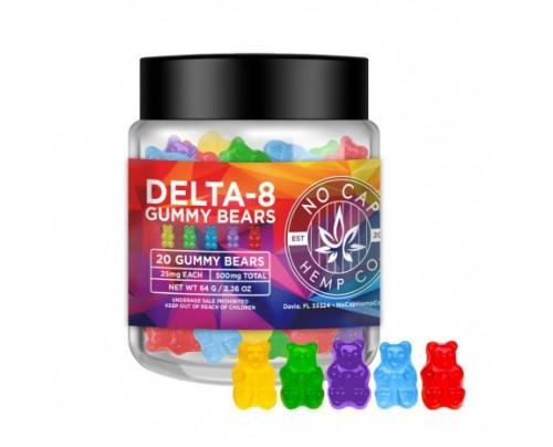 No Cap Hemp Co - Delta 8 THC Gummy Bears