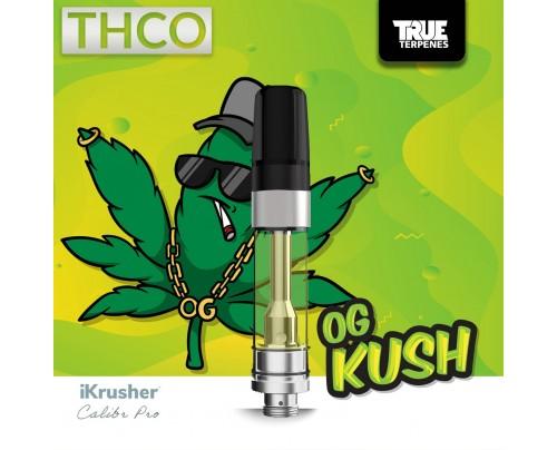 Bearly Legal Hemp OG KUSH THC-O Vape Cartridge Tank