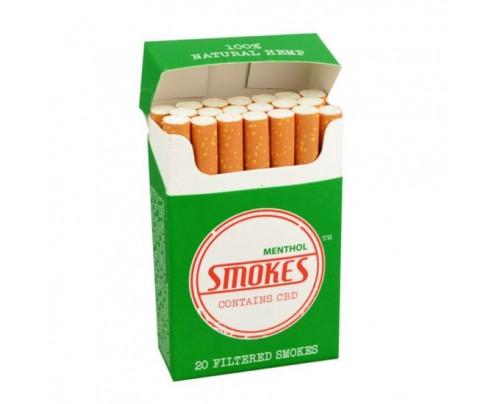 Hemp Smokes CBD Cigarettes Menthol Flavor Packs - FREE Shipping!