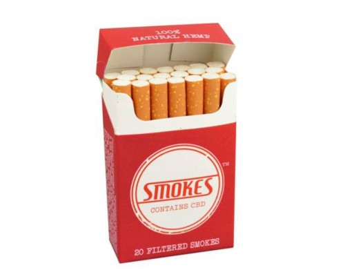 Hemp Smokes CBD Cigarettes Full Flavor Packs