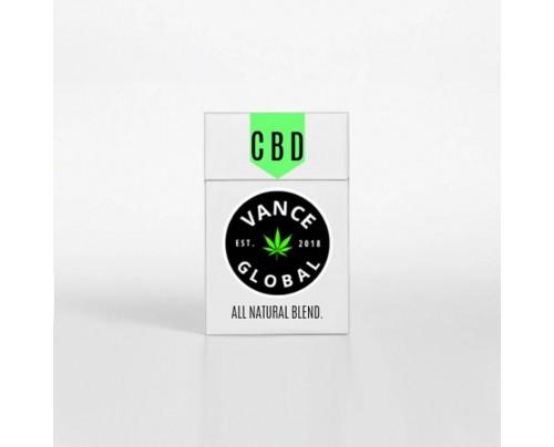 CBD Hemp Cigarettes All Natural Organic Blend by Vance Global - 10 Pack