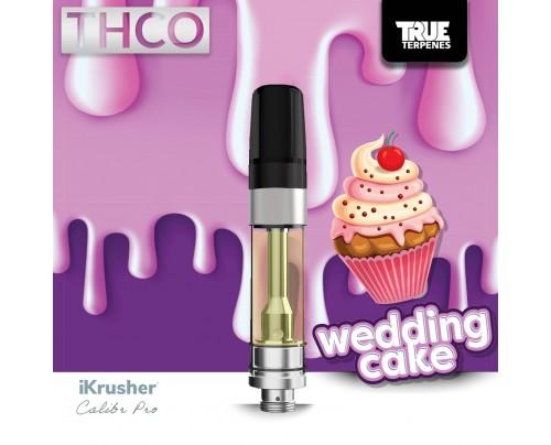 Bearly Legal Hemp Wedding Cake THC-O Acetate Vape Carts