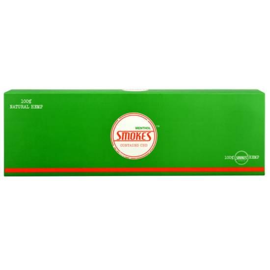 Hemp Smokes CBD Cigarettes Menthol Flavor Packs