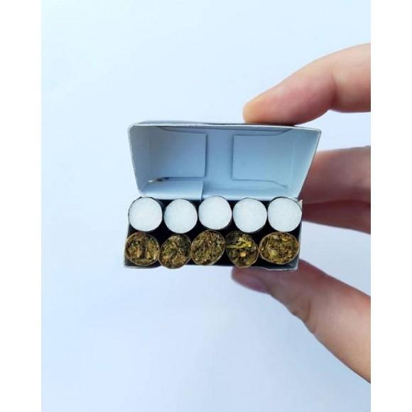 vance cbd natural blend cigarette pre rolls 1000mg 10 rolls