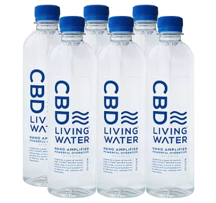 CBD Living Water Nano Technology Hemp Water