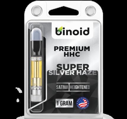 HHC Vape Cartridge - Super Silver Haze | Binoid | FREE Shipping!
