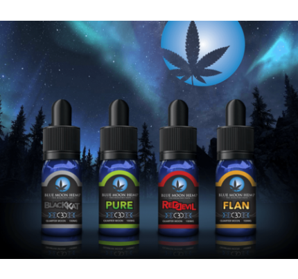 Blue Moon Hemp CBD Three Quarter Moon 300mg Sampler Pack