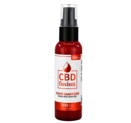 Antibacterial Hand Sanitizer 62% Alcohol -  300mg CBD Broad Spectrum Topical by CBD Fusion