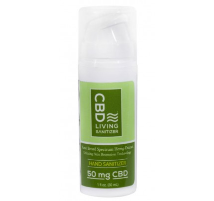 CBD Hand Sanitizer 62% Ethyl Alcohol