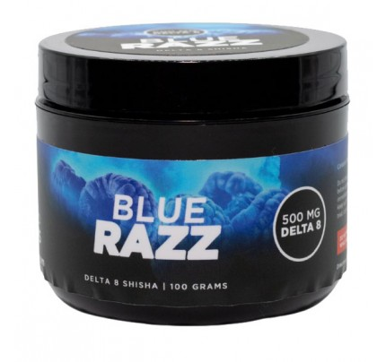 Concentrated Concepts  Hookah D8 THC Shisha - Blue Razz 500mg | FREE Shipping!