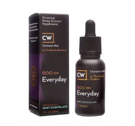 Charlotte's Web Everyday Hemp Oil - Size - 30mL