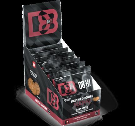 Delta 8 THC Cookies - Cinnamon | D8-HI Full Carton - FREE Shipping!