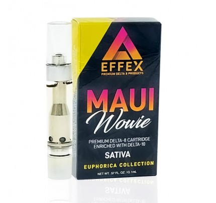 Delta 10 THC Vape Cart | Maui Wowie (Sativa) - Delta Effex -FREE Shipping