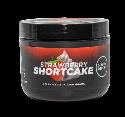 Delta-8 THC Shisha - Concentrated Concepts Strawberry Shortcake 500mg | FREE Shipping!