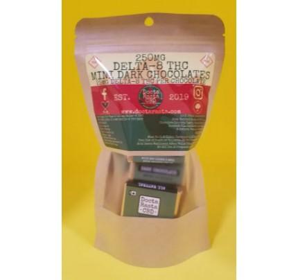 Delta-8 THC Dark Chocolate Candy Bars 250mg - FREE Shipping!