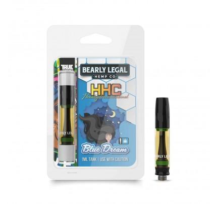 HHC Vape Cartridges - Blue Dream   Bearly Legal Hemp   FREE Shipping!