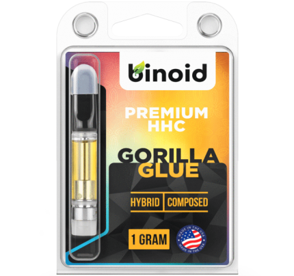 HHC Vape Cartridge - Gorilla Glue (GG4) - Binoid CBD Products | FREE Shipping!