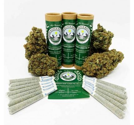 Lifter Hemp Pre-Rolls Indoor Grown  by Bakers Ranch Botanicals