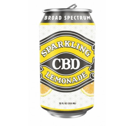 Sparkling CBD Soda Lemonade Flavor Beverage