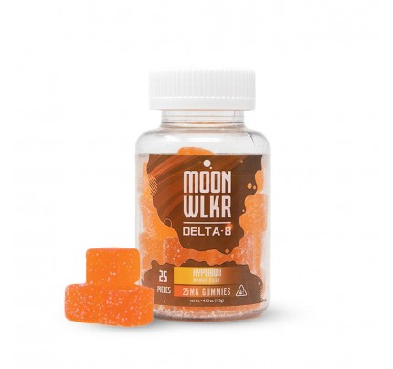 Delta-8 THC Gummies | MoonWLKR Mango Kush - FREE Shipping!