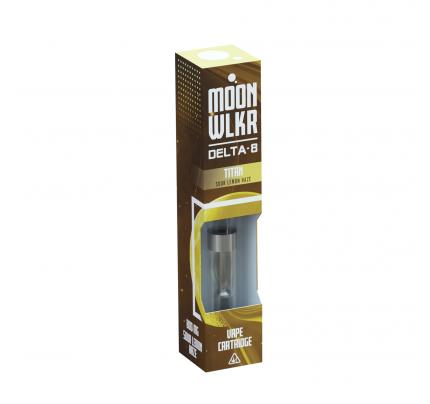 MoonWlkr Delta-8 THC Vape Cartridges | Sour Lemon Haze - Titan | FREE Shipping!