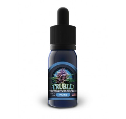 Blue Moon Hemp Tru Blu Peppermint – CBD Tincture