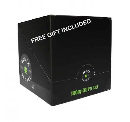 Vance Global Pure CBD Hemp Cigarettes - All Natural Organic Blend - 10 Pack Carton