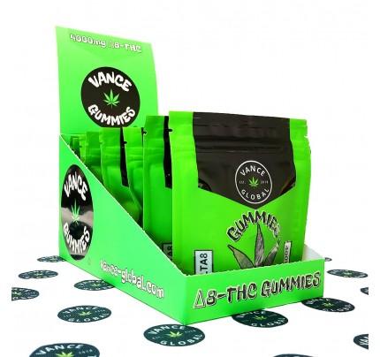 Vance Global Delta 8 Gummies Carton - FREE Shipping!