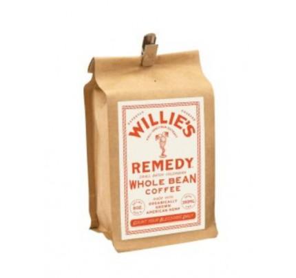 Willie Nelson's Willie's Remedy 8oz Whole Bean Double Strength CBD Coffee - 250MG CBD